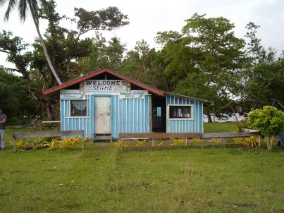 Seghe Airport, Solomon Islands